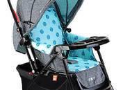 好孩子婴儿推车全蓬双向推行可躺可坐折叠轻便