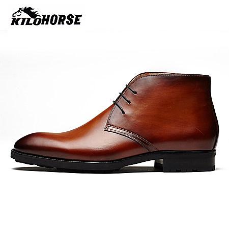 Kilohorse 手工擦色短靴