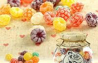 西班牙 草莓形什锦味糖果 水果硬糖