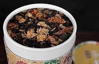 云南 羽茶  93年茉莉花茶 普洱花茶