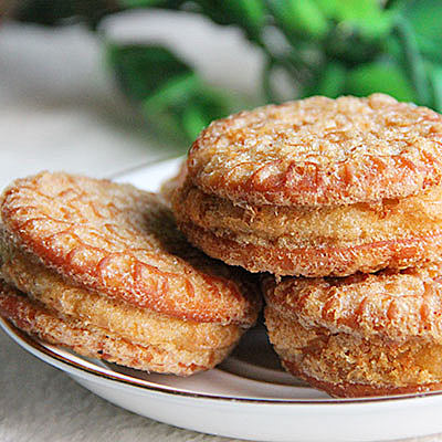 香酥板栗饼 福州特产休闲零食糕点4份24个