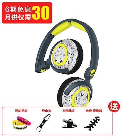 头戴式折叠线控耳机