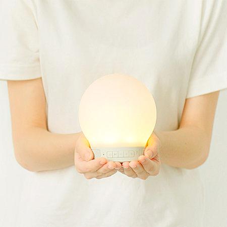 智能情感触控小夜灯无线蓝牙音箱创意礼物