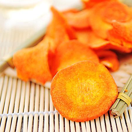 台湾进口 胡萝卜干脆片