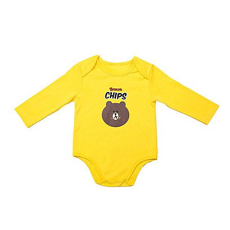 布朗熊婴幼儿连体裤