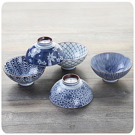 日本进口陶瓷碗餐具和风米饭碗套装家用装飯碗