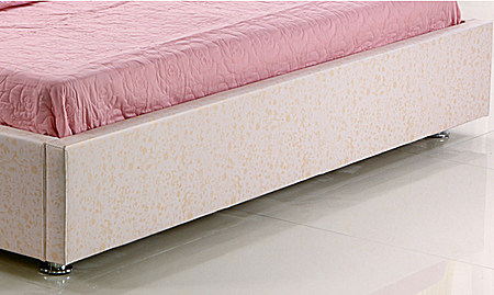 意生活小户型皮床 软体双人床特价真皮床