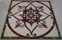 抛晶砖客厅拼花瓷砖玄关地砖廊入门抛金地毯砖