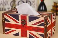 美式英伦米字旗纸巾盒
