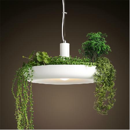 北欧创意空中花园盆栽花草灯饰