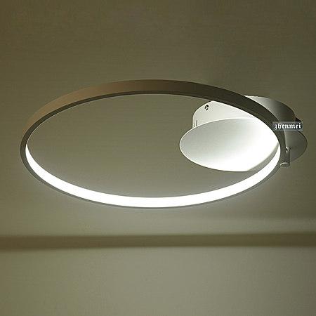 温馨简约现代LED铝材吸顶灯