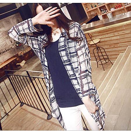 韩版雪纺开衫防晒衫女士衫防晒衣空调衫LPZ