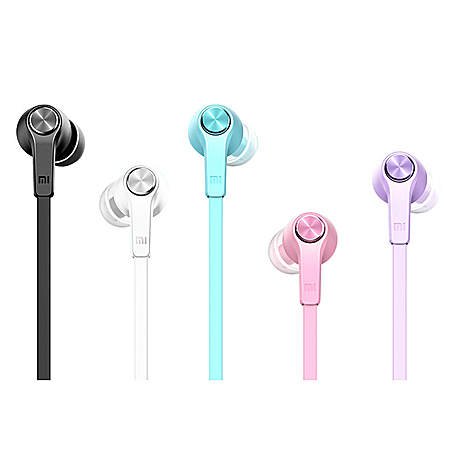 炫彩版小米手机4 3 入耳式通用线控面条可爱耳机