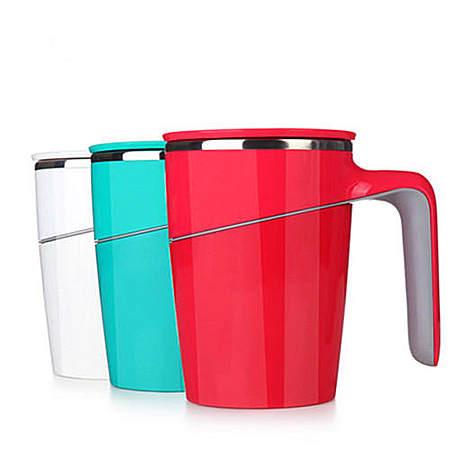 台湾Artiart正品 创意不倒杯 带盖不锈钢内胆