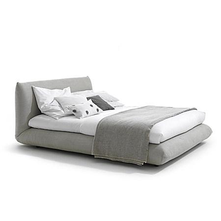 简约欧式现代北欧风双人床