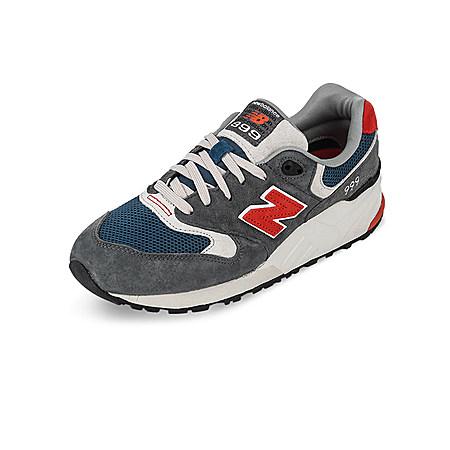 新百伦复古暖色跑鞋