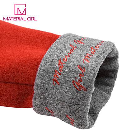 冬装新款商场同款毛呢外套红色中长款羊毛大衣