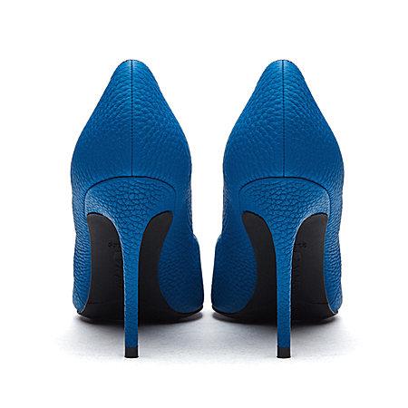 真皮荔枝纹单鞋