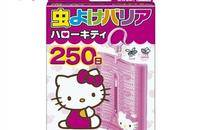 FUMAKILLA HELLO KITTY 驅蚊掛件 250日