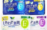 日本花王乐而雅F系列卫生巾日用夜用4包组合套装