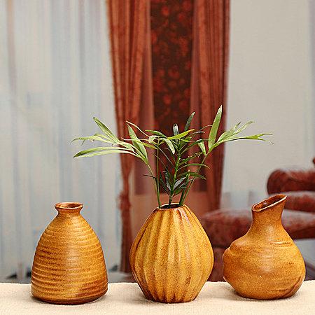 麦子陶瓷 水培花插花瓶