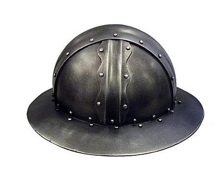 Handmade 手作复古仿金属圆顶帽子