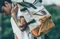 MACROPUS麻布系列双肩包