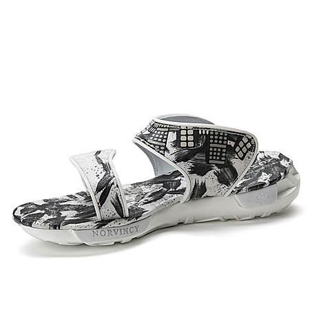 NORVINCY/诺凡希 2016新款时尚运动风涂鸦凉鞋