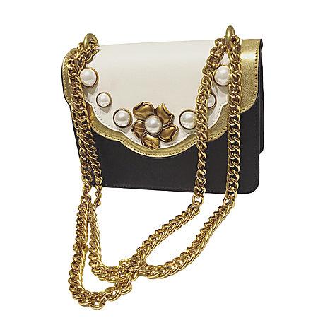 复古链条珍珠包