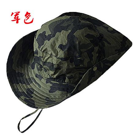大沿迷彩帽这样防晒帽钓鱼帽男