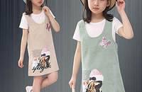 夏装儿童连衣裙
