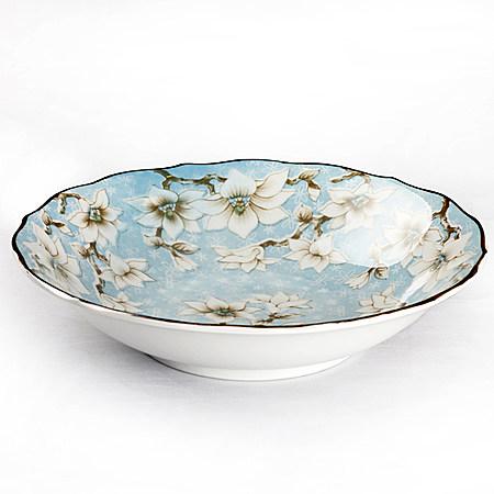 日本进口釉下彩盘陶瓷餐具