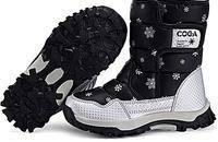 儿童防水防滑雪地靴