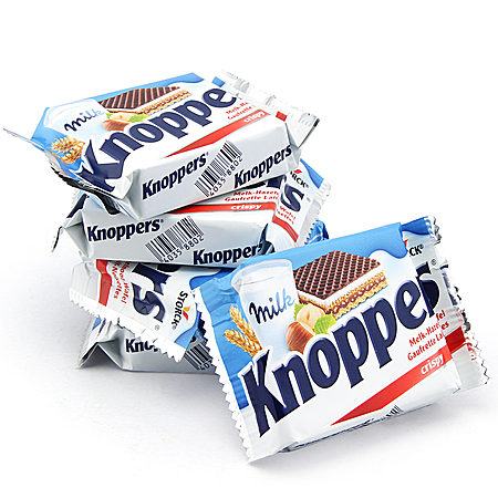 德国knoppers威化饼干