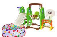 儿童室内滑梯秋千玩具