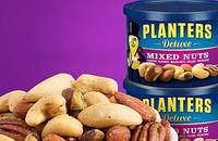 美国进口绅士混合坚果含开心果248g*2罐