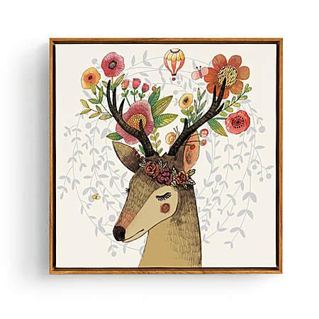 麋鹿的幻想装饰画