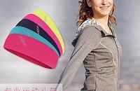 佐纳多色发带女运动休闲头带网球头箍跑步健身