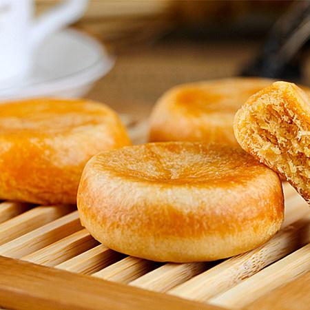 麦卡秀纯手工制作肉松饼 传统糕点零食点心