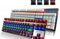 诺普Noppoo lolita 87/104背光游戏机械键盘