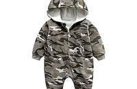 婴儿迷彩连体衣