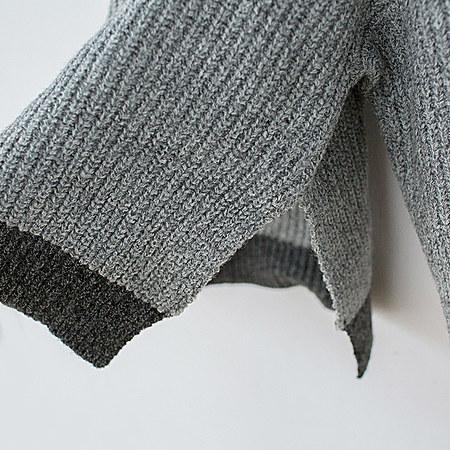 儿童高领针织毛衣