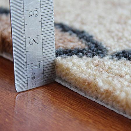 田园花防滑地毯