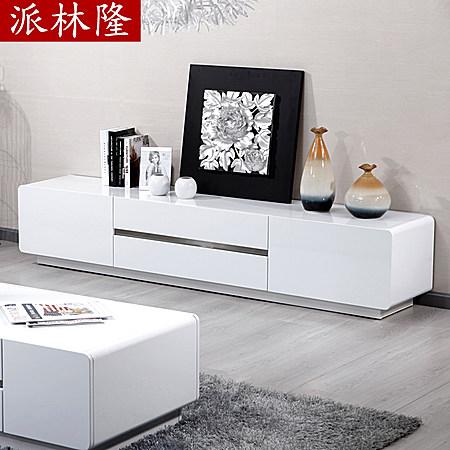 白色烤漆欧式电视柜