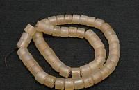天然白玛瑙仿古工艺算盘珠手串