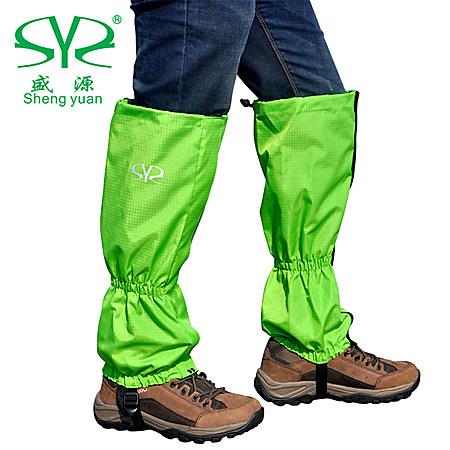 户外雪套防虫防水滑雪登山鞋套加长套脚徒步护腿