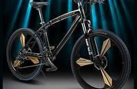 一体轮山地车自行车