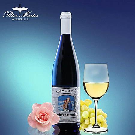 德国圣母之乳雷司令白葡萄酒