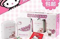 富士趣奇俏Hello Kitty手机一次成像照片打印机
