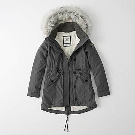 羊羔绒派克大衣外套